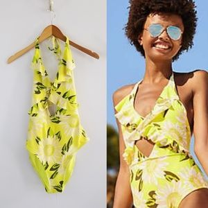 3 for $25- Aerie Floral One-Piece Swimsuit